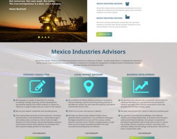 Website concept-Mexico industries