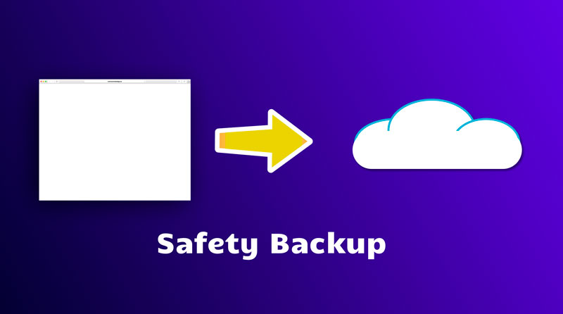 Website Safety Backup