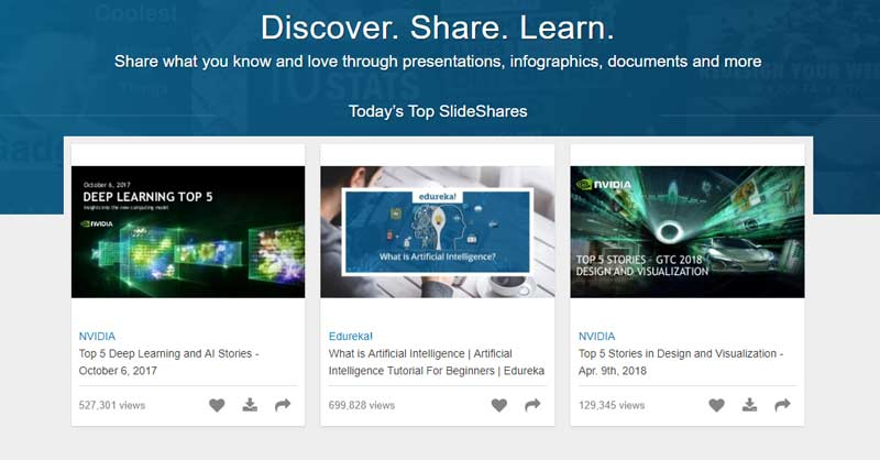 Turn Your Content Into SlideShare Presentation