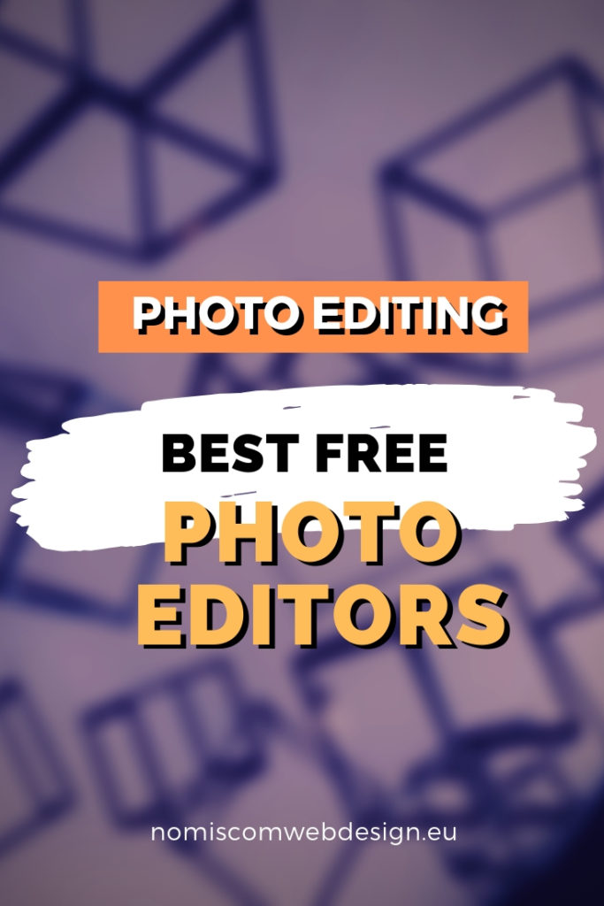 Free photo editors pin image