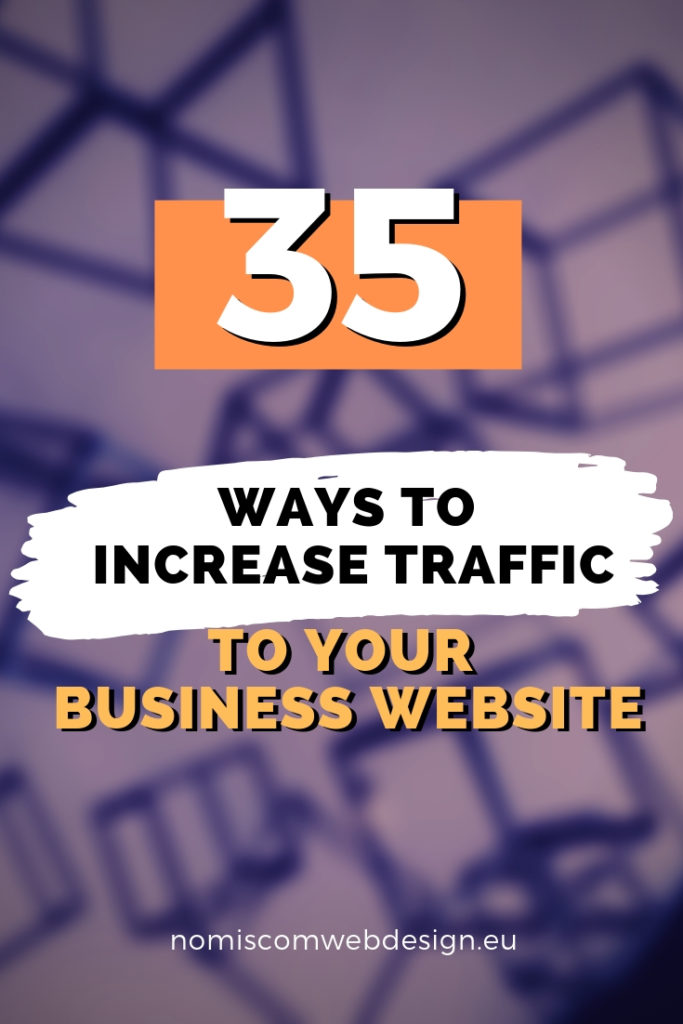 It doesn't matter if you are a business owner or marketer, you need more traffic and new ways to increase it. So here are 35 was you can drive more traffic to your website.