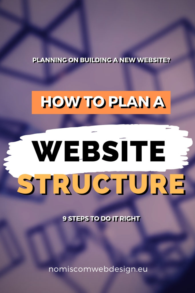 How to plan a website structure