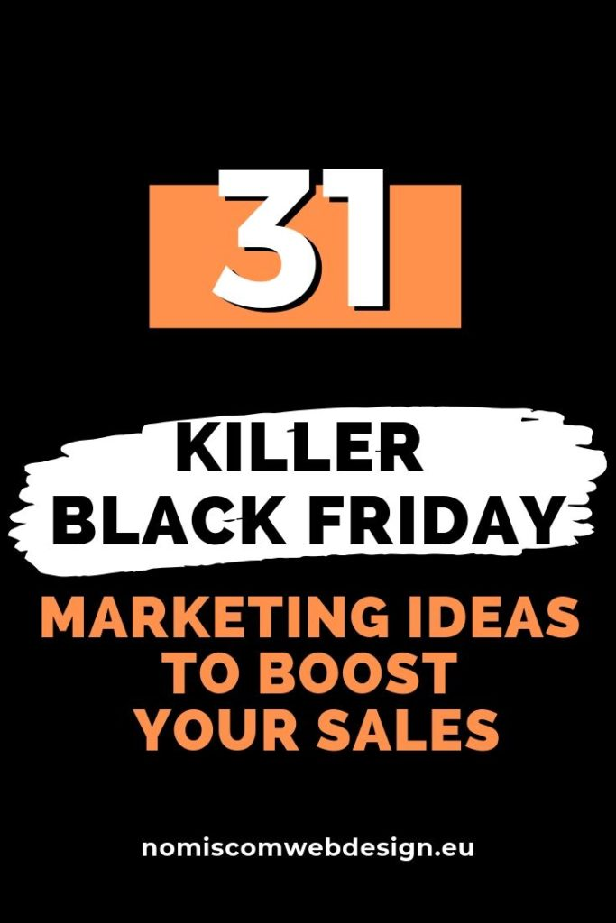 marketing ideas for black friday