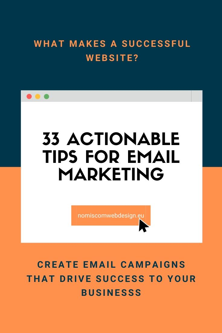 33 tips for email marketing